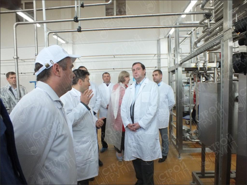 Реконструкция здания мастерской на 75 тракторов под молочный цех производительностью до 10 тонн в сутки, Смоленская область