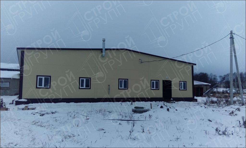 Строительство Доильно-молочного блока, Калужская область
