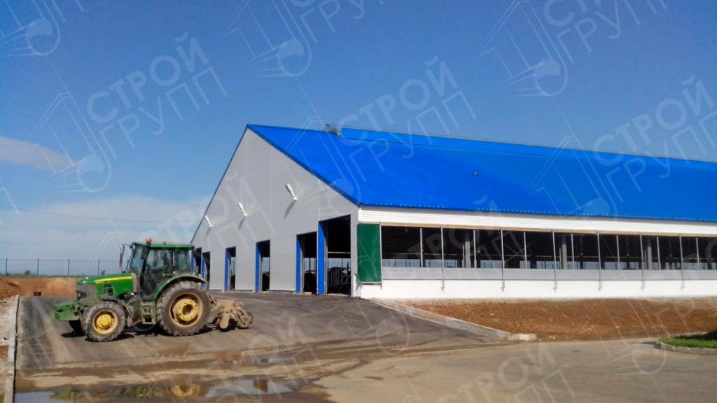 Расширение животноводческого комплекса до 1800 голов КРС, Смоленская область
