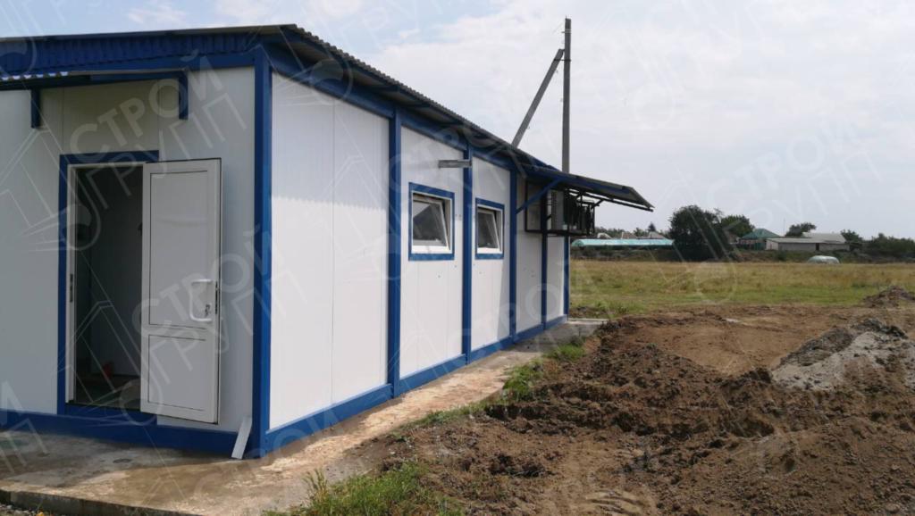 Строительство модульного, быстровозводимого молочного цеха, Республика Кабардино-Балкария